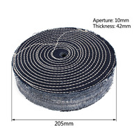 200mm 8inch cowboy cotton Wheel 10mm Bore For Grinding And Polishing Of stainless steel iron cast iron and other metals