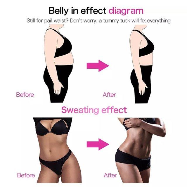 Waist Trainer Belt Slimming Body Shaper Belt Three-In-One Female Sweat Plastic Belt Sports Bodybuilding Adjustable Waist Belt 4