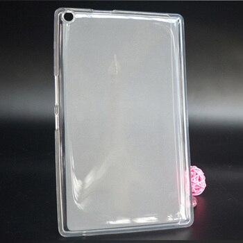 Soft Clear Transparent TPU Silicone Cover Case For 8.0 ASUS ZenPad 8.0 Z380 Z380C Z380M Z380KL Z380KNL P024 Tablet PC case