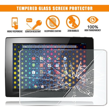For ARCHOS 101 neon Tablet Tempered Glass Screen Protector 9H Premium Scratch Resistant Anti-fingerprint Film Cover hot in stock archos 50e neon case 6 colors luxury ultra thin leather exclusive for archos 50e neon phone cover tracking