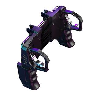 Image 1 - Игровой контроллер, помощник для игровой стрельбы, триггер, кнопка огня, геймпад, черный джойстик