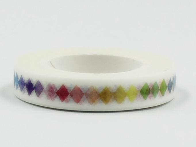 Colorful Square Diy Decorative Washi Masking Tape(1piece)