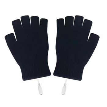цена на Hot Sale Electric Heating Gloves Winter Thermal USB Heated Gloves Electric Heating Glove Heated Gloves Keep Warming