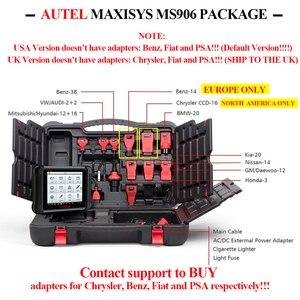 Image 5 - AUTEL MaxiSys MS906 Auto Diagnostic Tool OBD2 Scanner Automotive Key Coding OBD 2 ECU Tester Key Programmer PK MS906BT MS906TS