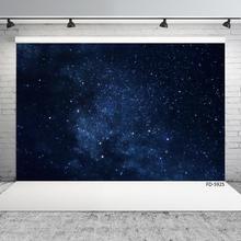 Stars Starry Dark Sky Night Photography Backdrop Customized Fond Background for Baby Children Portrait Photocall Photo Studio