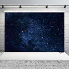 Arrière-plan de photographie de nuit et de ciel étoilé, toile de Fond personnalisée pour photographie de Portrait d'enfants et de bébés, pour Studio Photo