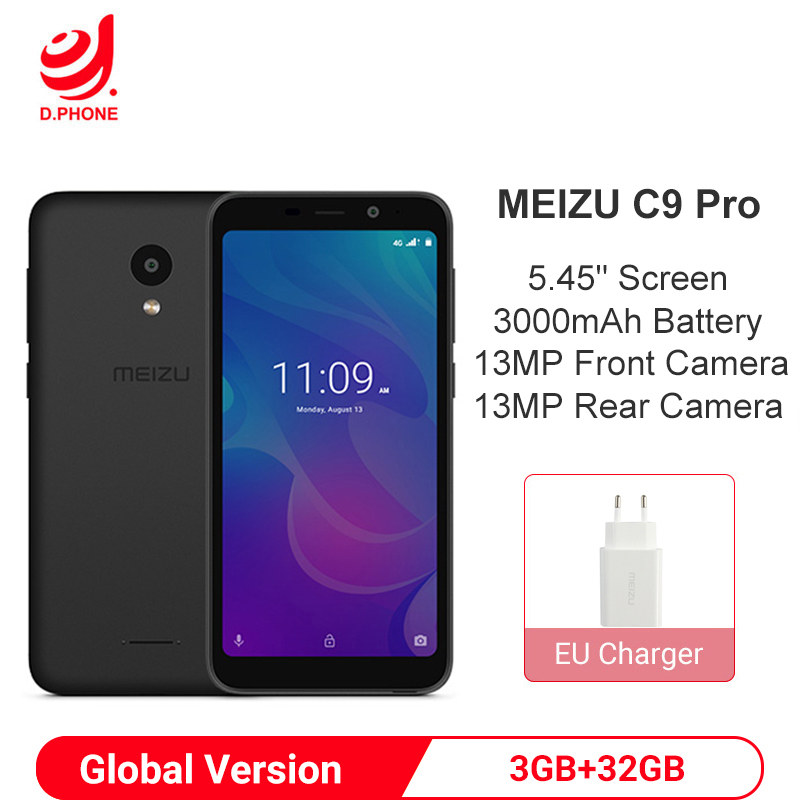 Meizu C9 Pro 3GB RAM 32GB ROM Global Version Smartphone Android Quad Core 5.45