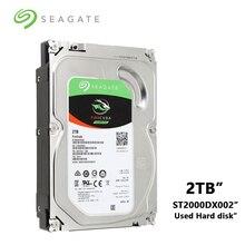 سيجيت 2 تيرا بايت فايركودا الألعاب SSHD (الحالة الصلبة محرك الهجين) 7200 RPM SATA 6 جيجابايت/ثانية 64MB مخبأ 3.5 بوصة HDD (ST2000DX002)