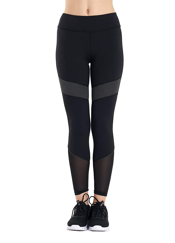 20 Pieces Womens Premium High Waist Tummy Solid Yoga Pants Breathable Fabric Leggings