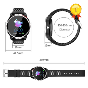 Image 2 - High quality hrv spo2 ppg smart watch Heart rate detection ECG measurement Blood pressure smartwatch bracelet for ios android
