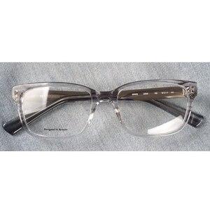 Image 1 - Marcos para gafas con receta rectangulares transparentes de acetato para mujer