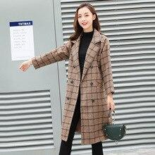 Women's coat maternity clothing Autumn Winter Plus Size Pregnancy Women Jackets Long Loose wool blend clothing Women cloak