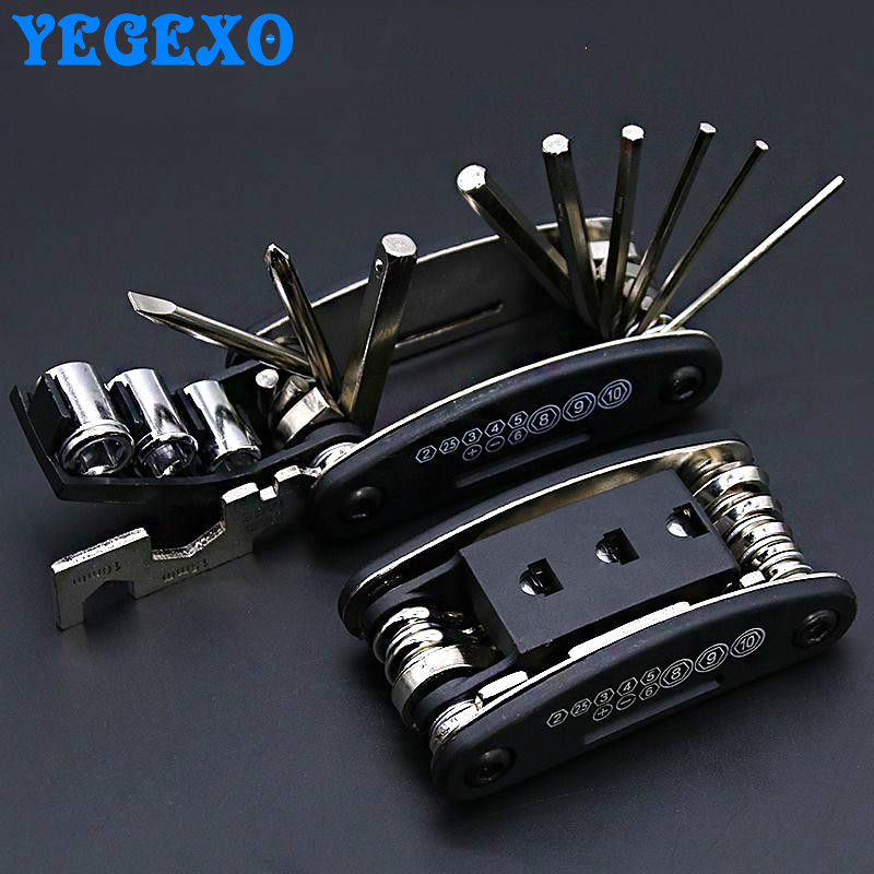 Motorcycle Repair Tools Portable Folding Screwdriver Kit For suzuki sv650 gsxr <font><b>1000</b></font> k9 rmz 250 <font><b>dr</b></font> 650 k6 gsx s 750 sv1000 image