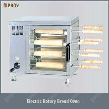 EB550 Electric Rotary Bread Toaster Oven French baguette Bakery Oven Stainless Steel 220V Commercial Use