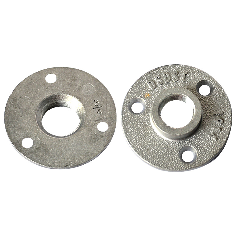 Pipe Crafts Pipe Fitting Loft Accessories Flange Base Fixed Flange Piece 4 Hours And 6 Hours Cross Border