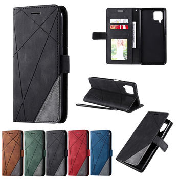 Leather Flip Card Slot Case For Samsung Galaxy A42 5G Shockproof Business Wallet Luxury Cover for Galaxy A42 A 42 Phone Coques