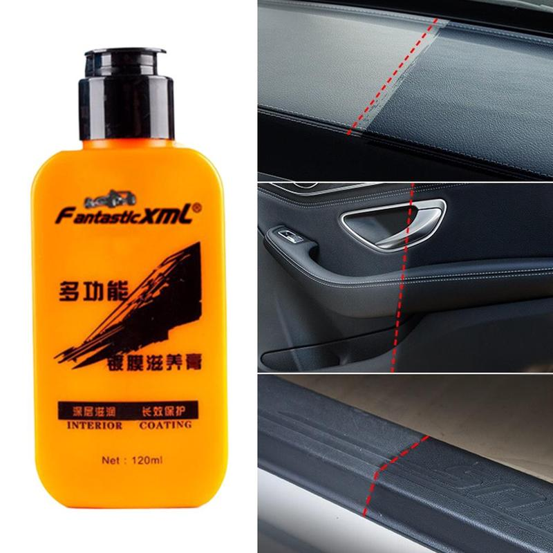 H07a8485f5eff4574aa1a7c31e9586885U - Renovating Coating Paste Auto Leather  Decontamination Maintenance Agent Car Seat Center Console Leather Coating paste