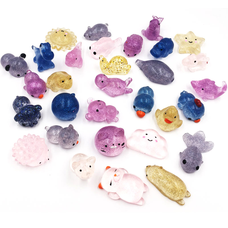 Cute Animal Squishy Slow Rising Soft Squeeze Toy Relief Stress Abreact Ball Antistress Squishies Toys For Baby Kids Xmas Gifts