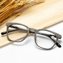 Ahora retor imitação de madeira óculos de leitura para mulher & masculino quadrado presbiopia óculos hyperopia + 1.0 + 1.5 2.0 + 2.5 3.0 + 3.5 + 4.0 +