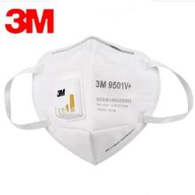 Masque facial respirateur 3M, Anti-brume, PM2.5, filtre à charbon actif, Valve à flux froid, masque de sécurité respirant