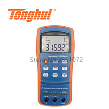 TH2822E Handheld LCR Meter 100Hz, 120Hz,1kHz,10kHz, 100kHz with DCR Function RLC Meter