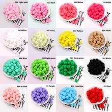 Pompoms 10mm 15mm 20mm 25mm 30mm Soft Pompones Fluffy Plush Crafts DIY Pom Poms Ball Furball Kids Toy Home Decor Sewing Supplies
