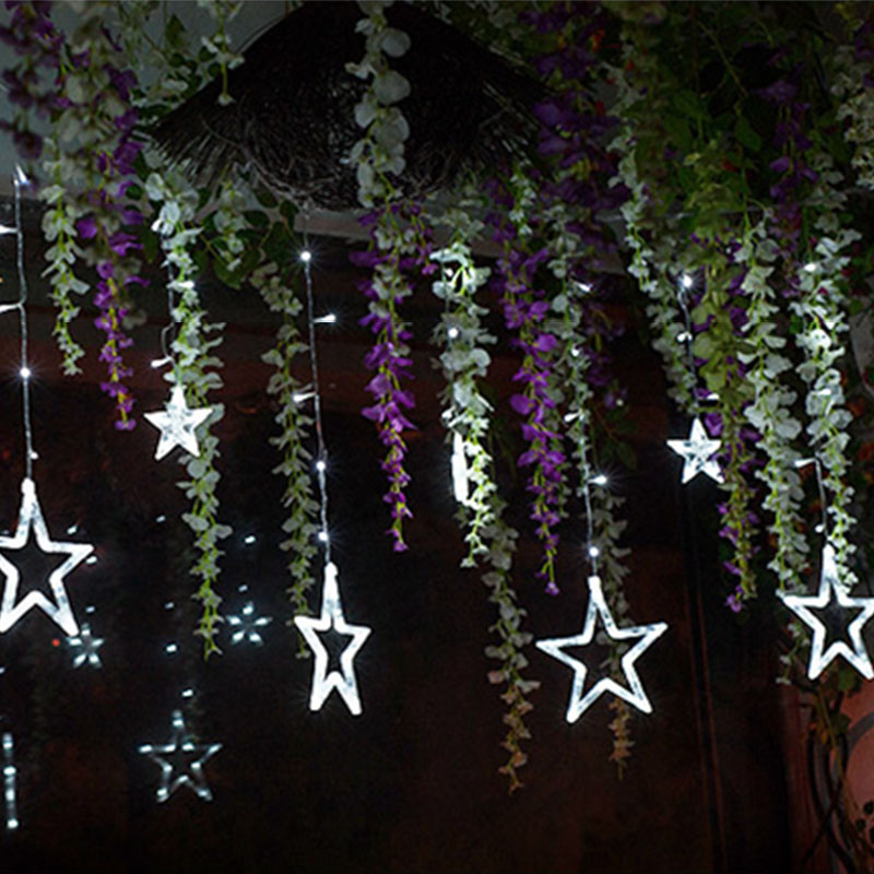 3M Led Christmas Lights Outdoor Fairy Lights LED Curtain String Star For Party Wedding Garland Light Decoration AC220V Or 110V