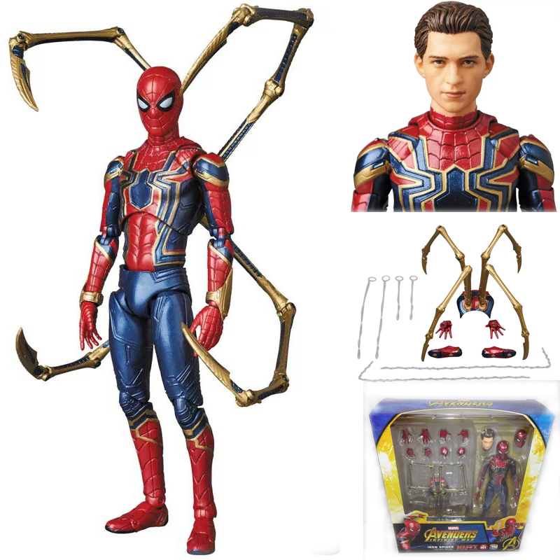 The Avengers spider man set 14pcs PVC figure figures doll toy statue cartoon new