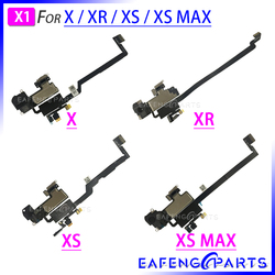 交換部品のための XS 最大 XR × 周囲近接光センサーフレックスケーブルリボン耳スピーカー iphone XR