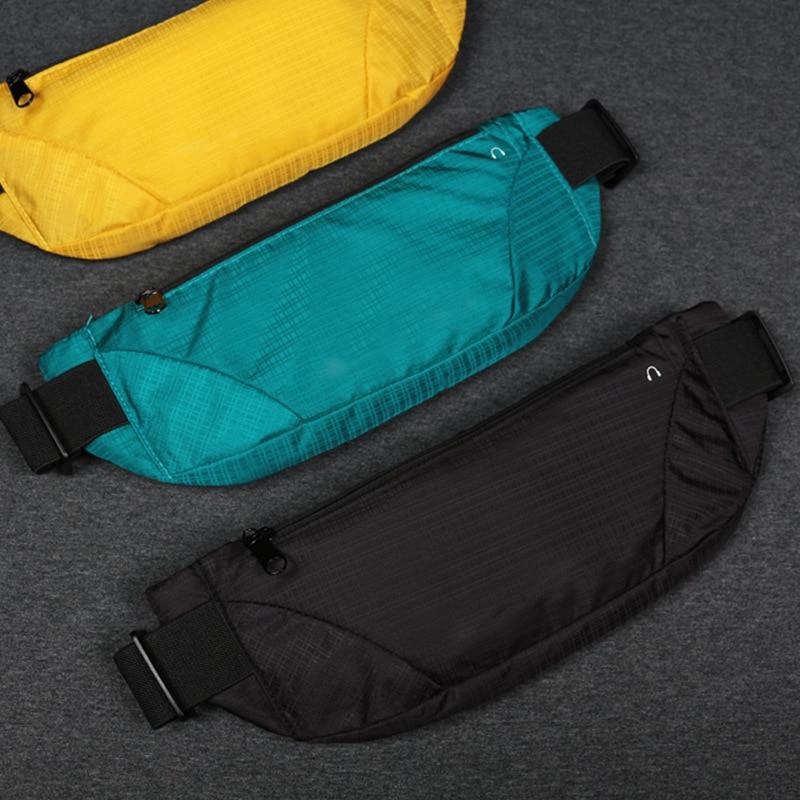 Sport Waist Bag For Women Men Polyester Running Fanny Pack Ultra-light Large Capacity Waist Pack Mountaineering Belt Bag