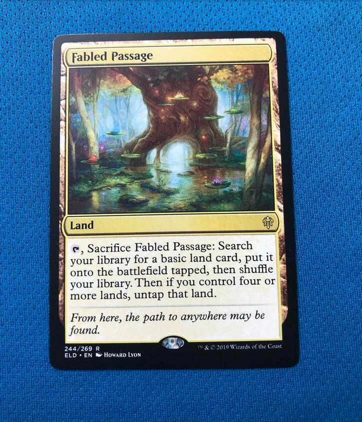Fabled PassageELD Hologram Magician ProxyKing 8.0 VIP The Proxy Cards To Gathering Every Single Mg Card.