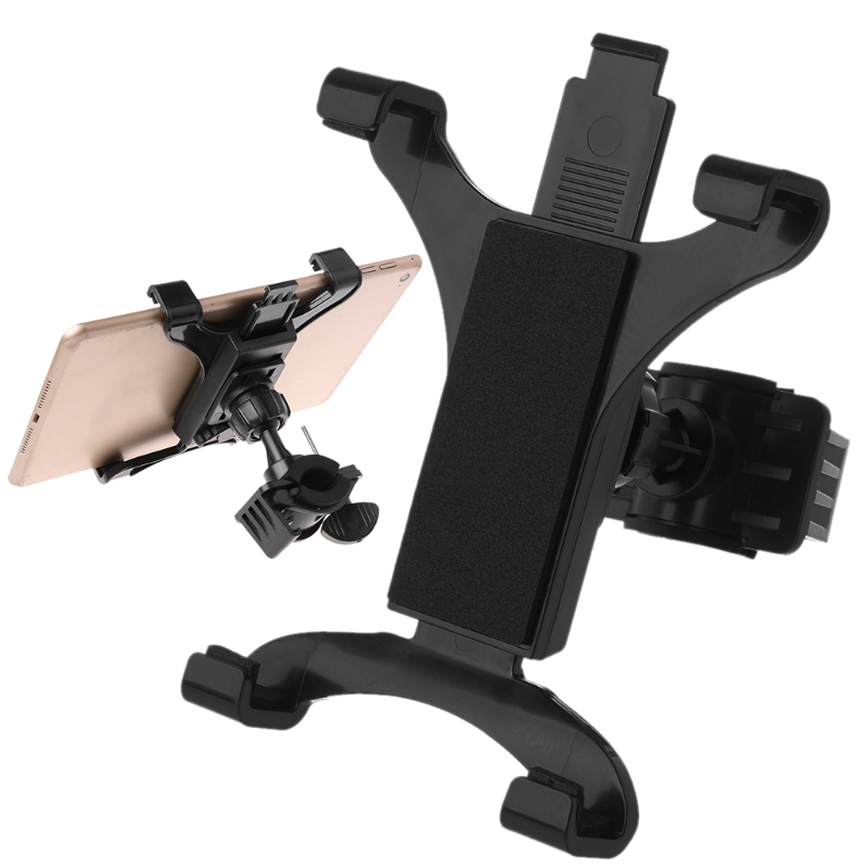 Bicycle Mini Tablet Holder Universal Adjustable Mount Bike Bracket For 7in-11in