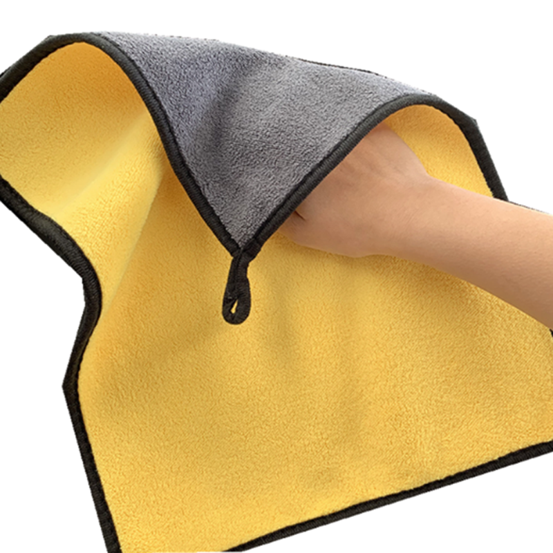 1pc Car Wash Microfiber Towels Super Thick Plush Cloth Washing Cleaning Drying Absorb Wax Polishing Auto Detailing Washing Tools