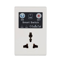 EU 220V Phone RC Remote Wireless Control Smart Switch GSM Socket Power Plug for Home Household Appliance Hot Sale