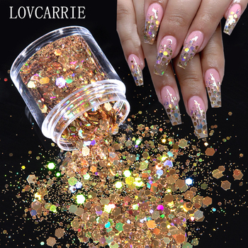 10ml/jar Mix Color Nail Art Glitter Powder Holo Gold Hexagon Aurora Nail Flakes Sequins for a Manicure Nail Art Decorations NEW 10ml jar mix color nail art glitter powder holo gold hexagon aurora nail flakes sequins for a manicure nail art decorations new