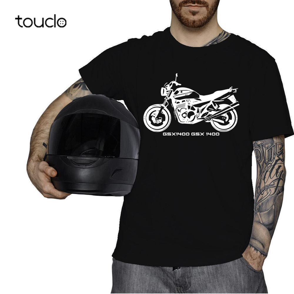Gsx1400 Gsx 1400 силуэт мотоцикла байкера подарок футболка