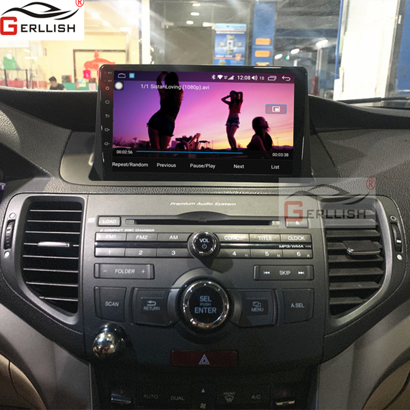 Android Car DVD GPs Play For Honda Accord For Honda Spirior 2009 2010 2011 2012 2013 2GB + 32GB WiFi BT Mirror Link Car Multimedia