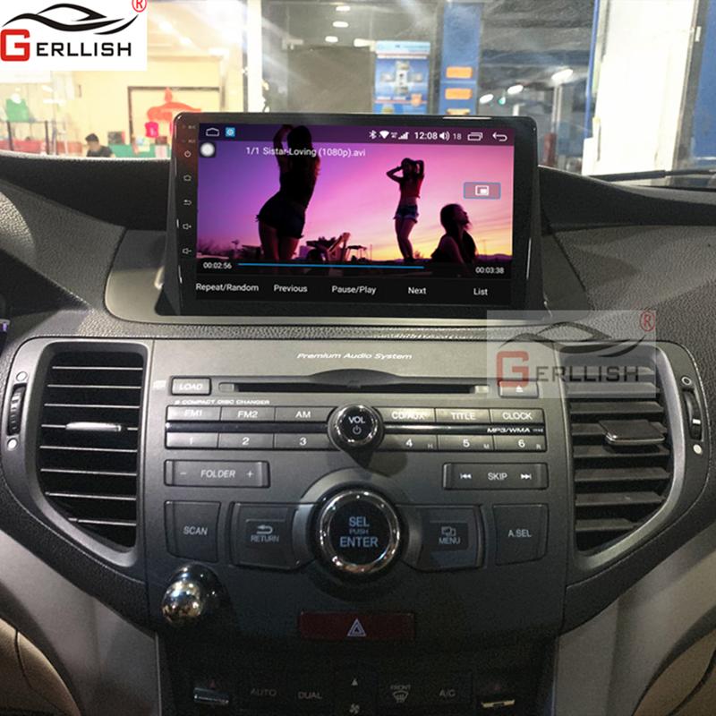 Android Car DVD GPs Play For Honda Accord For Honda Spirior 2009 2010 2011 2012 2013 2GB + 32GB WiFi BT Mirror Link Car Multimedia