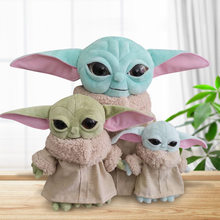 30cm Force Awakens Star Wars Yodaing Children Plush Toys Cartoon Master Stuffed Action Figure Doll Gift Toy For Kids(China)