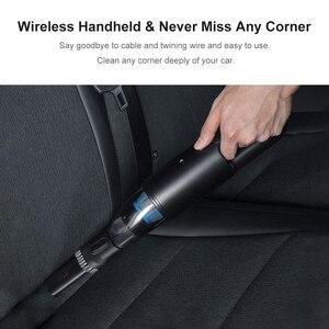 Image 5 - Cleanfly Mini araba taşınabilir elektrikli süpürge hepa ışık kablosuz el Helded CoClean hızlı şarj taşınabilir araba toz temizleyici