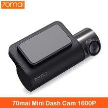 Mini câmera inteligente 70mai, mini câmera midrive d05, sensor os05a10 1600p, wifi, dvr, noite visão de visão