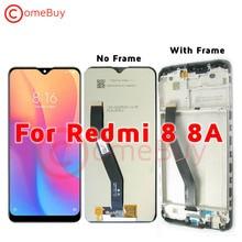 """6.22 """"תצוגה עבור Xiaomi Redmi 8 8A LCD תצוגת מסך מגע Digitizer עצרת עבור Xiaomi Redmi 8a LCD עם מסגרת החלפה"""