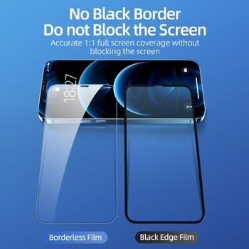 Защитное стекло для iPhone 12 Pro Max 12 Mini, 2 шт.