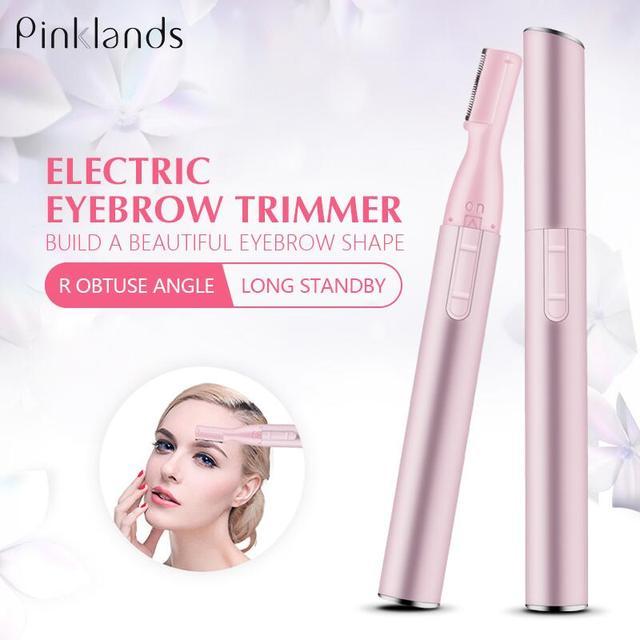 Electric Face Eyebrow Scissors Hair Trimmer Mini Portable Practical Women Body Shaver Remover Blade Razor Eye Brow Epilator
