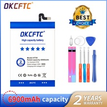 OKCFTC HT50 Battery Replacement 5.5inch 6900mAh Backup Batteries Replacement For HOMTOM HT50 Smart Phone