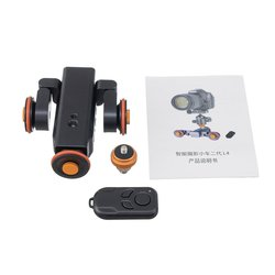Motorized Camera Video Dolly Scale Indication Electric Track Slider for Canon Nikon Sony DSLR Camera Smartphone