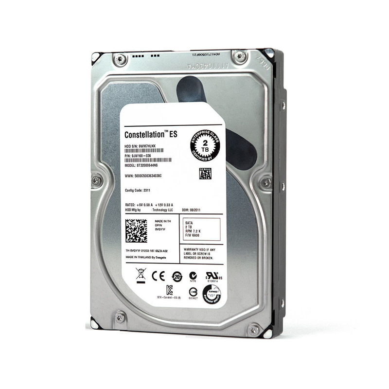 """New HDD For Seagate/Dell Brand 2TB 3.5"""" SATA 3 Gb/s 64MB 7200RPM For Internal HDD For Enterprise Class HDD For ST32000644NS 4"""