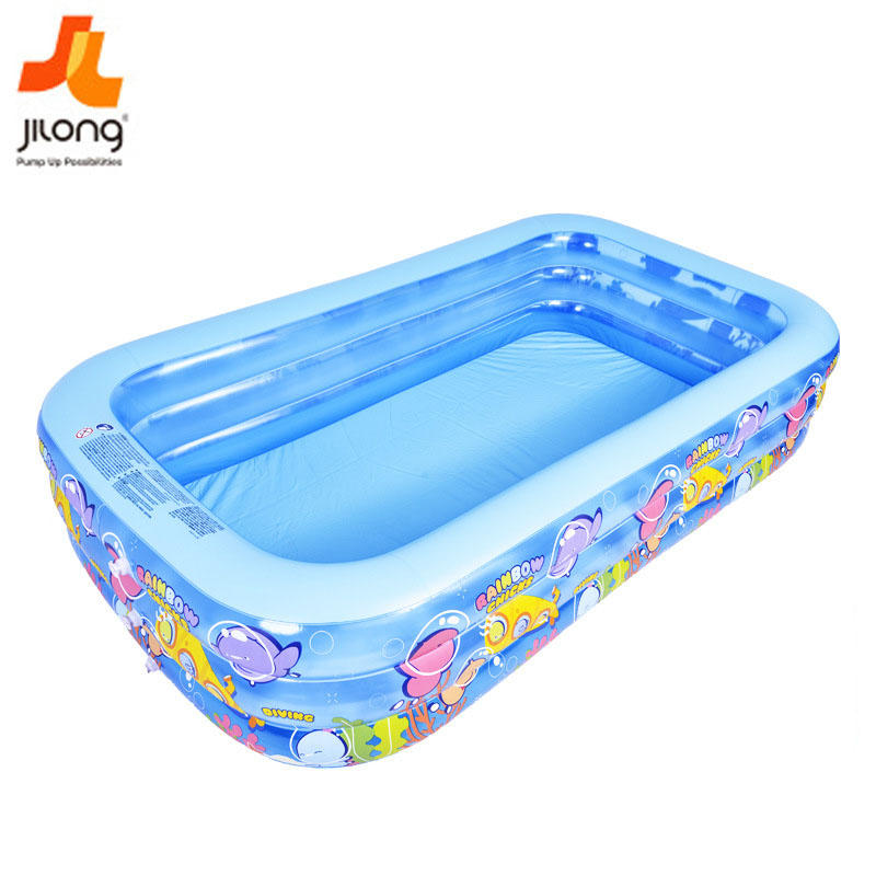 Swimming Pool Rectangle Inflatable Family Swimming Pool And Accessories Kids Inflatable Bathtub Piscinas Inflables Square Pool