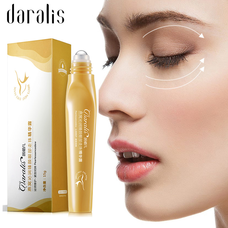 Daralis 15G Bird Nest Eye Serum Remove Dark Circle Anti-Aging Wrinkle Essence Moisturize Hydrating For Eyes Skin Care Cream