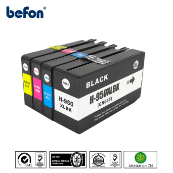 Befon cartuccia d'inchiostro HP 950XL 951XL HP950 compatibile per HP 950 951 per Officejet Pro 8100 8600 251dw 276dw 8630 8650 8615 8625 image